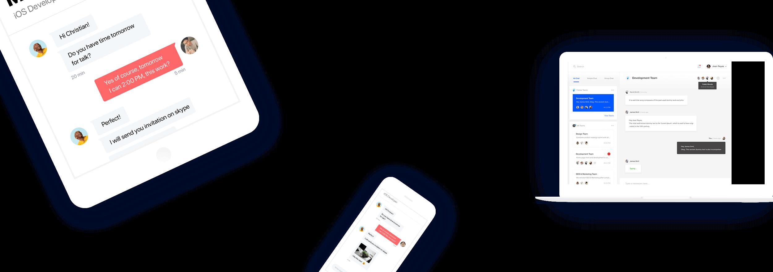 Device friendly widget